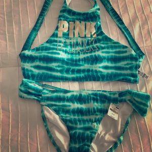 Victoria Secret Pink 2pc bikini size SP